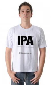 Camiseta Cevas - IPA English