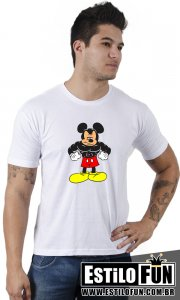 Camiseta Mickey Gym - Transfer
