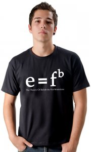 Camiseta The Theory Of Relativity For Musicians