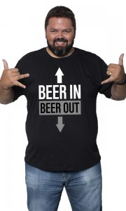 Camiseta Beer In Beer Out