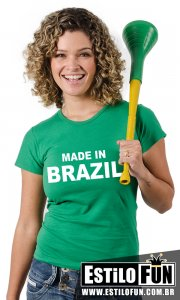 Camiseta Made in Brazil