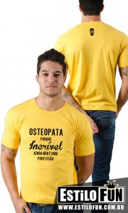 Camiseta StillSincero Incrível Osteopatia